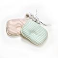 【送料無料】二重ガーゼオーガニックボーダーベビー枕 新生児 日本製/NS166