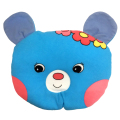 【送料無料】汗取りベビービーズ枕 ドーナツ型 赤ちゃん 3ヶ月 日本製/0610