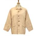 ANGEL(エンゼル)綿100% 袖口オープン 大きめポケット付きねまき [やさしいパジャマ2 上着のみ(紳士用) S/M/L/LLサイズ/MST-510A]