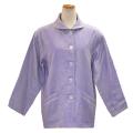 ANGEL(エンゼル)綿100% 袖口オープン 大きめポケット付きねまき [やさしいパジャマ2 上着のみ(婦人用) S/M/L/LLサイズ/MST-511A]
