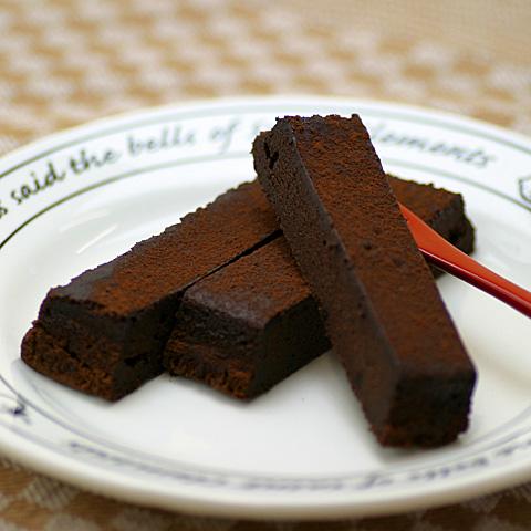ガトーショコラのフリーカットケーキ