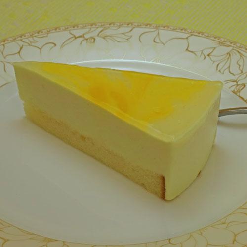 日向夏のレアチーズケーキ
