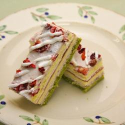 フリーカットケーキ小倉いちごケーキ