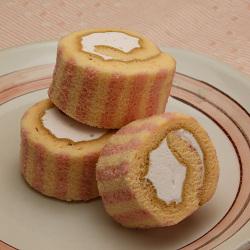 いちごのロールケーキ(個包装)