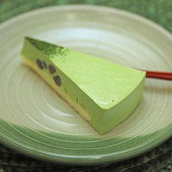 京都宇治抹茶レアチーズケーキ