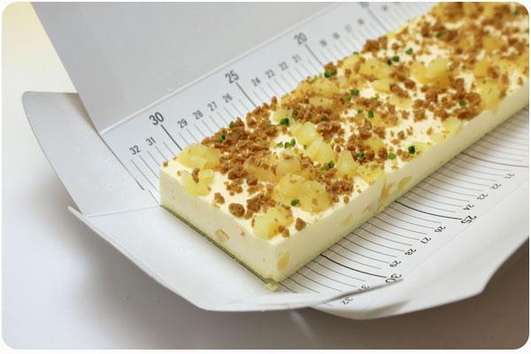 フリーカットケーキ りんごのレアチーズ4