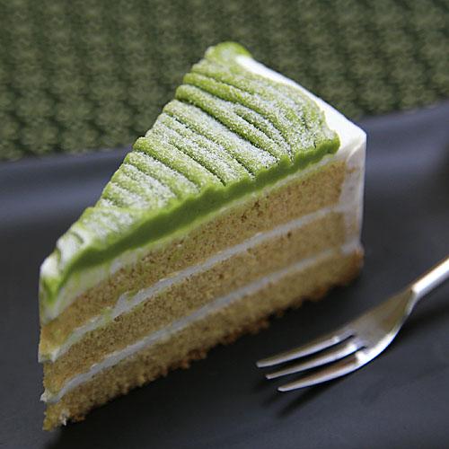 抹茶ときな粉のケーキ