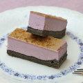 フリーカットケーキ 紫芋のチーズブリュレ1
