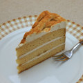 黒蜜ときな粉のケーキ1