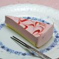 あまおうのレアチーズケーキ