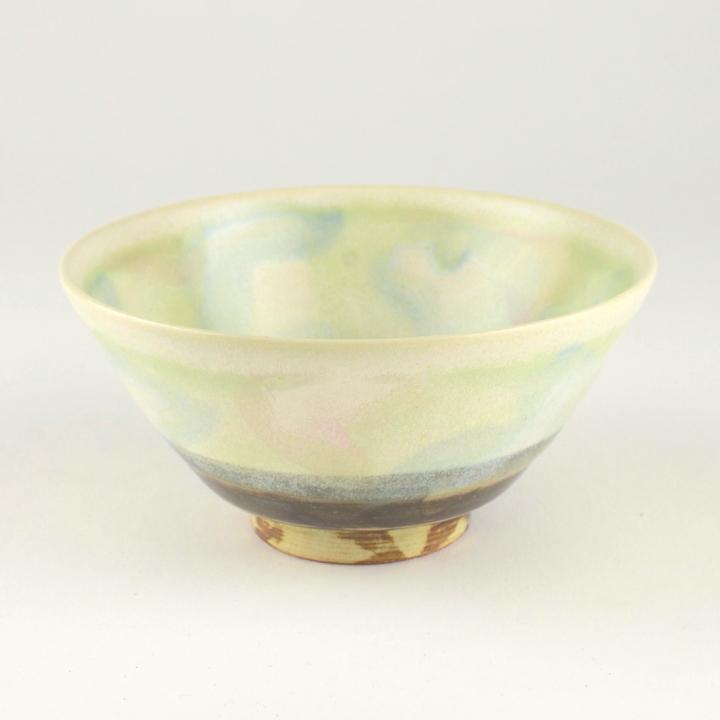 茶碗(グリーン)_丹泉窯 市野ちさと 作
