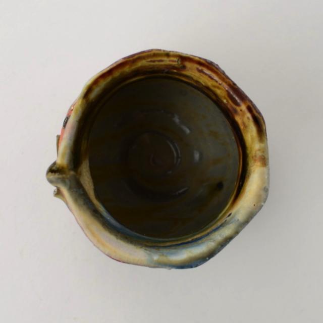 丹文窯_丹波灰釉酒杯