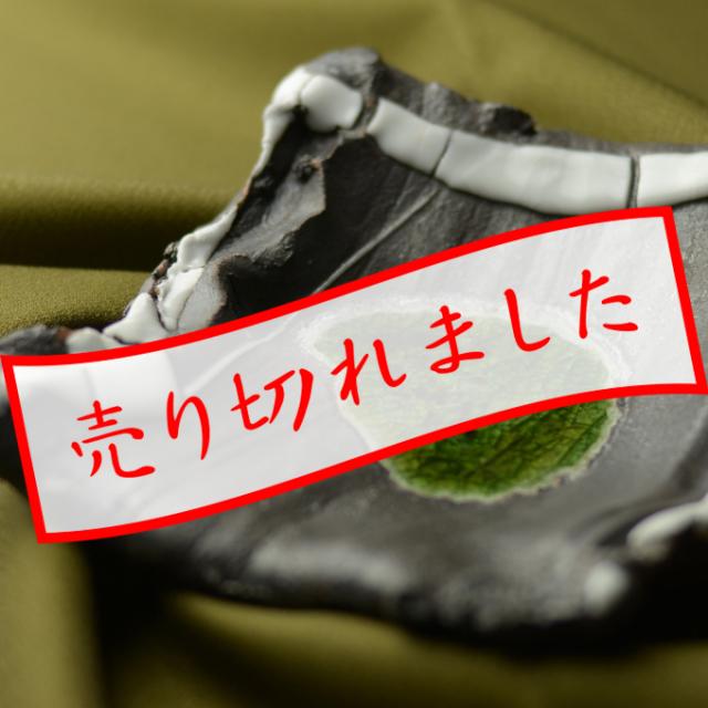 角小皿(白釉)A_丹文窯 大西雅文 作