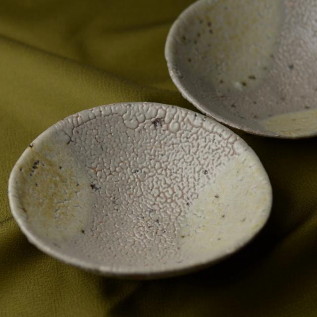 小鉢2枚組(灰釉)