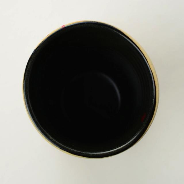丹文窯_ビアカップ 黒