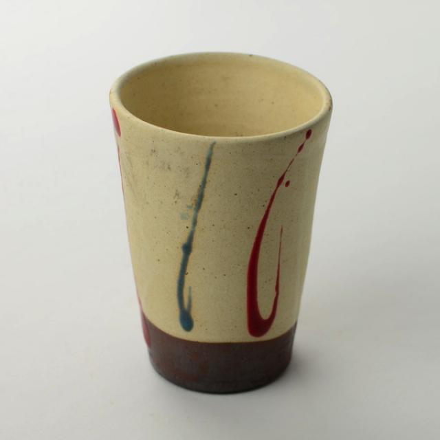 丹文窯ビアカップ 白