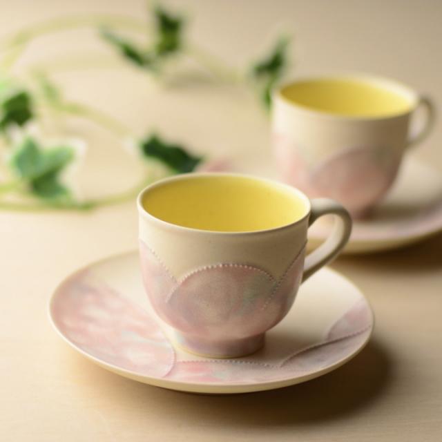 コーヒーカップ1客_丹泉窯 市野ちさと 作
