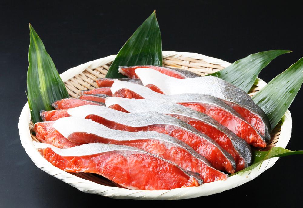 甘口仕立!上質な脂の天然紅鮭切身約2kg 【全国送料無料】