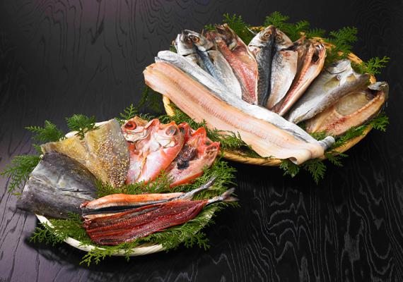 熊野海道干物セット7種14枚 【全国送料無料】