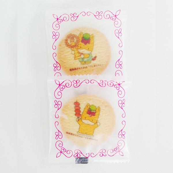 ぐんまちゃんプリントクッキー