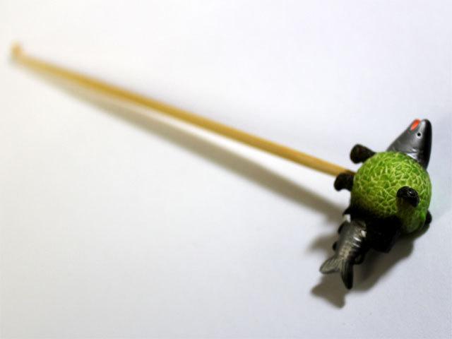 メロン熊 耳かき (鮭バージョン)