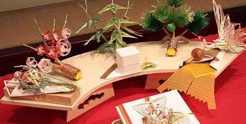 結納・通販-【送料無料】関西式正式結納セット宝華福槌7点セット
