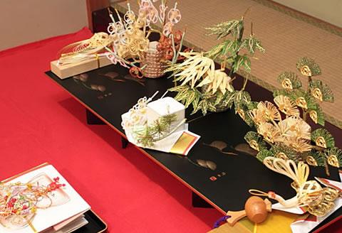 結納・通販-【送料無料】関西式正式結納セット凛華7点福槌セット