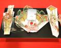 結納・通販-【送料無料】略式結納セット鳳凰 指輪結納セット 今だけ毛氈(もうせん)プレゼント
