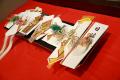 結納・通販-【送料無料】関東地方結納セット遙香7品(寿留女・子生婦セット)毛氈プレゼント