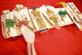 結納・通販-【送料無料】関東地方結納セット和華7品(寿留女・子生婦セット)毛氈プレゼント