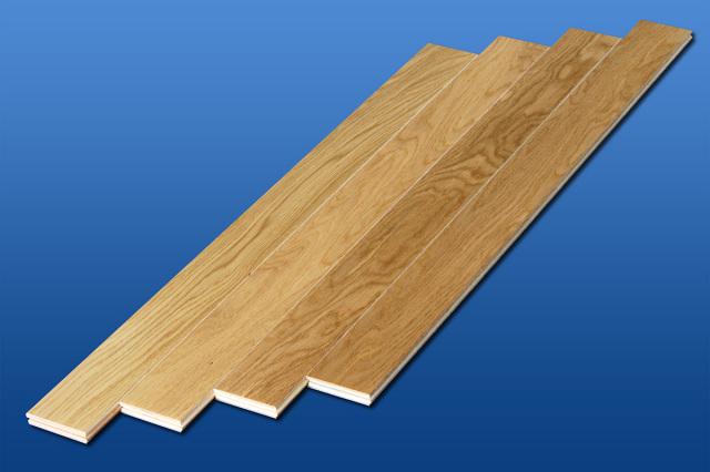 Aクラスアウトレット ダンスフロアー・店舗向け床材 高級天然無垢材 ナラクリアー 厚単板 直貼りフローリング(0.5坪)