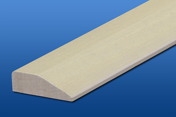 段差見切り ホワイト 厚14mm×巾45mm×長さ1800mm