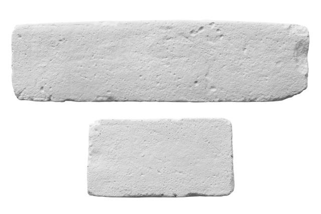 DIYレンガタイル スノーホワイト 煉瓦 超軽量ブリック レギュラー&ハーフサイズセット
