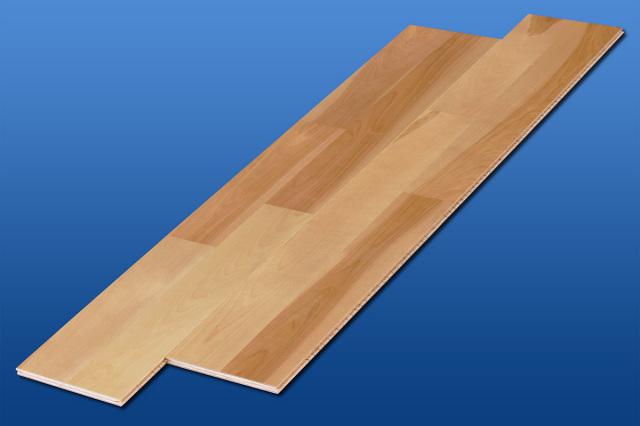 遮音フローリング LL45 チェリークリア 床暖房対応可能 遮音等級LL45のマンション用アウトレット直貼り床材