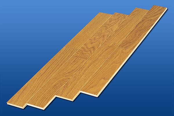 遮音フローリング LL45 スタンダードオーク カジュアル 雁形状 床暖房対応可 遮音等級LL45のマンション用アウトレット直貼り床材