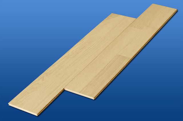 Aクラスアウトレット 遮音フローリング LL45 ピュアオーク 雁形状 遮音等級LL45のマンション用アウトレット直貼り床材
