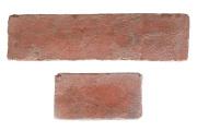 DIYレンガタイル アンテイーク赤煉瓦タイプ 超軽量ブリック レギュラー&ハーフサイズセット