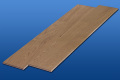 遮音フローリング LL45 シナモンオーク 床暖房対応可能 遮音等級LL45のマンション用アウトレット直貼り床材