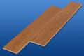 遮音フローリング LL45 カントリーチェリー 雁形状 シートタイプ 遮音等級LL45のマンション用アウトレット直貼り床材