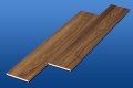 遮音フローリング LL45 イタリアンウオルナット 雁形状 シートタイプ 遮音等級LL45のマンション用アウトレット直貼り床材