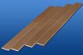 遮音フローリング LL45 モカブラウン 雁形状 床暖房対応可能 遮音等級LL45のマンション用アウトレット直貼り床材
