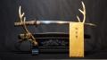 日本美術刀剣保存協会鑑定 日本刀 銘:無銘【末三原】拵 刀 46.7cm 刀身402g