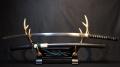 日本刀 銘:在銘【肥前国忠吉】刀身71.7cm 拵付き