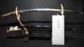 日本刀 在銘【正秀花押】【千刀之後】: 刀 72.1cm 刀身741g