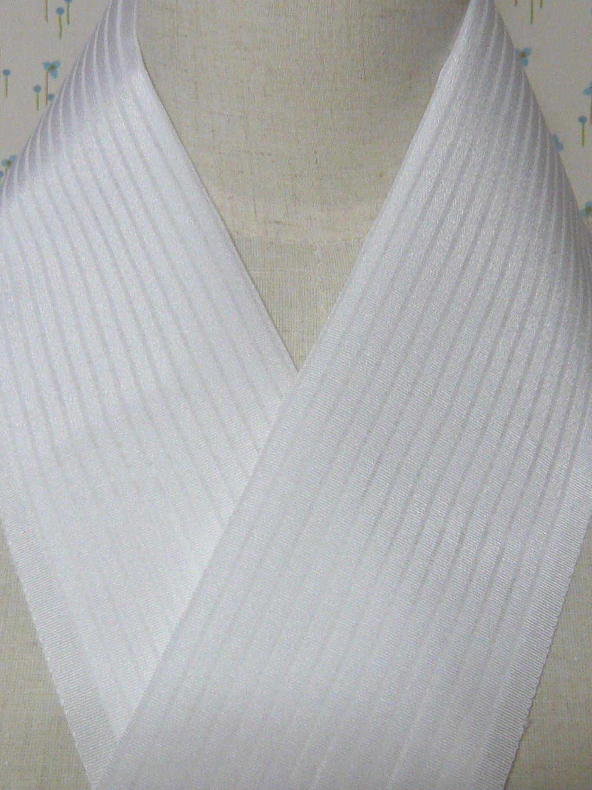 【正規品】立呂一巾半衿☆正絹 【2割引】単衣用半襟