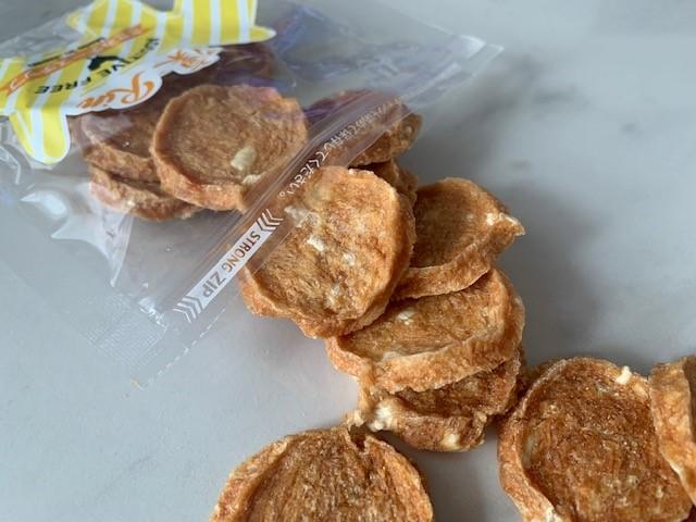 国産無添加おやつ ささみチーズチップ