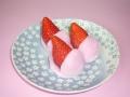 朝摘みの大粒苺使用 静岡苺大福(6個入れ)
