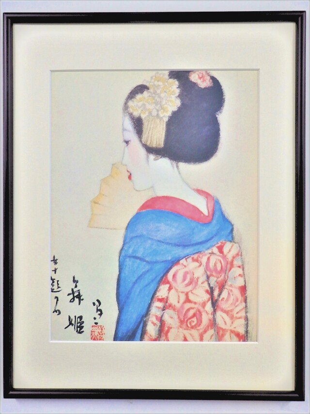ポスター額「舞姫」