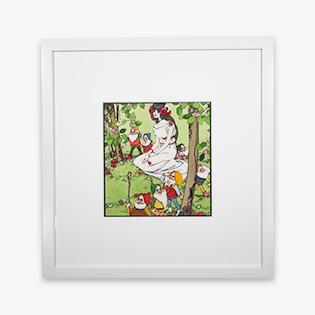 「白雪姫」水彩・インク