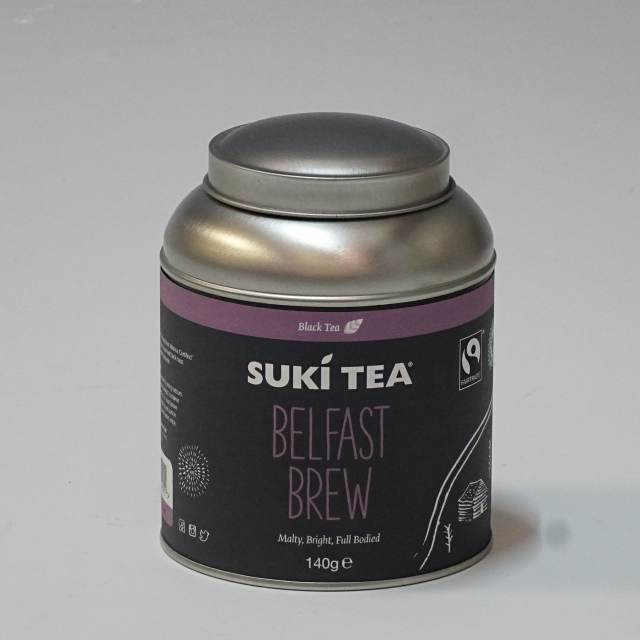 【日本限定】 SUKI TEA(スキティー)ベルファースト ティーキャディー 140g